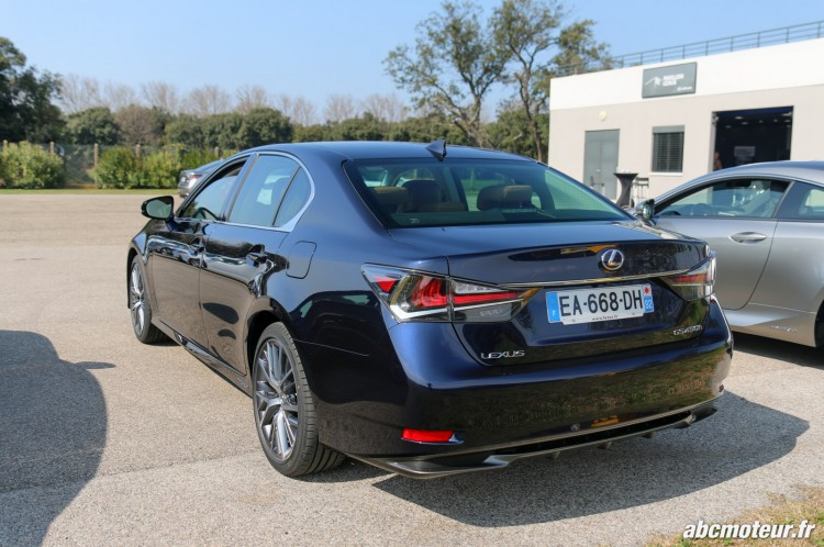 Lexus GS 450h Executive arriere-2