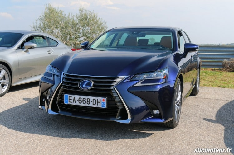 Lexus GS 450h Executive avant-2