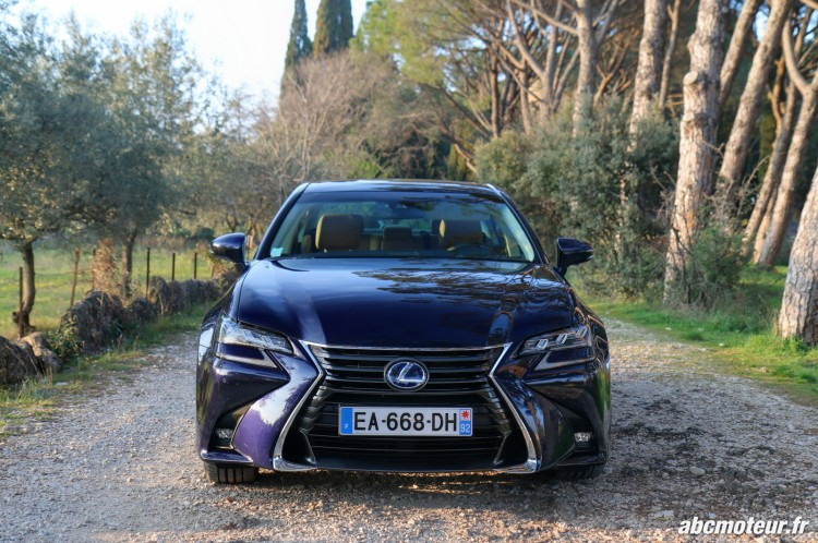 Lexus GS 450h Executive avant-4