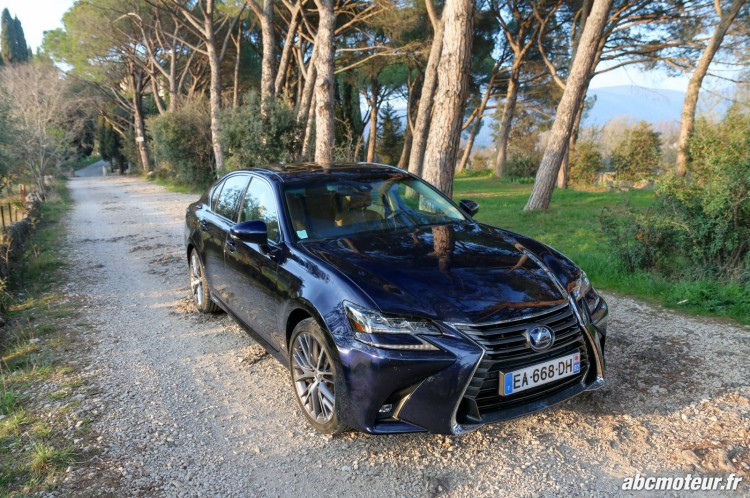 Lexus GS 450h Executive avant-6