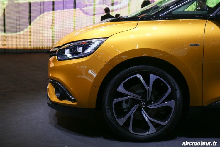 Renault Scenic IV jante Geneve 2016