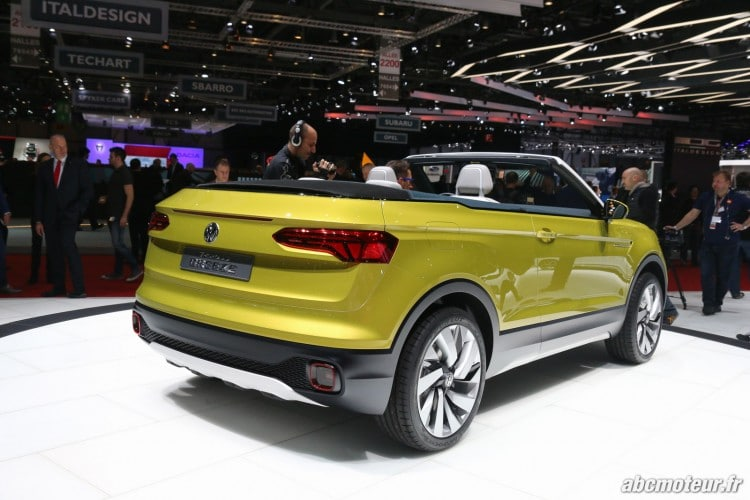 Volkswagen T-Cross Breeze arriere Geneve 2016