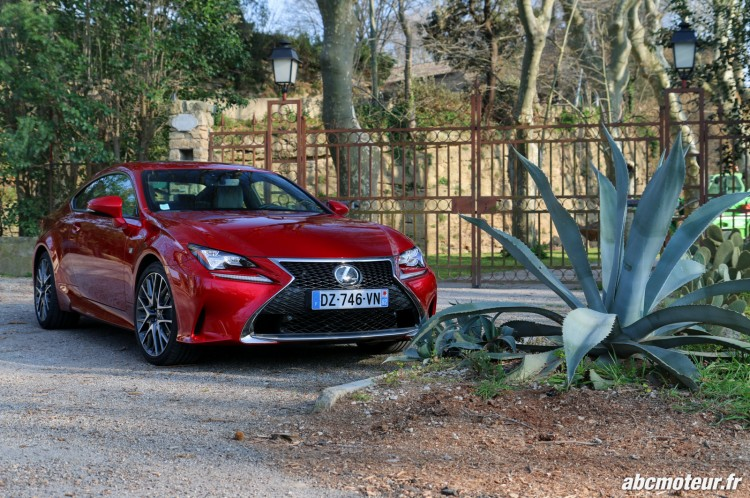 Lexus RC 200t F Sport Executive avant