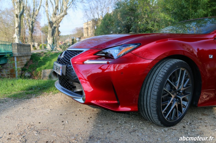 Lexus RC 200t F Sport Executive jante