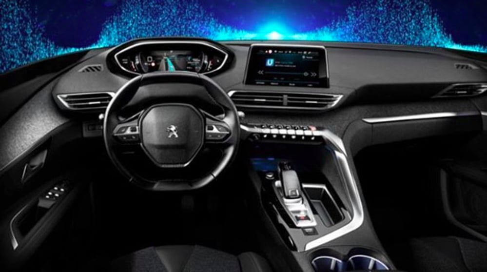 peugeot 3008 une 1 re image d 39 un int rieur impressionnant. Black Bedroom Furniture Sets. Home Design Ideas
