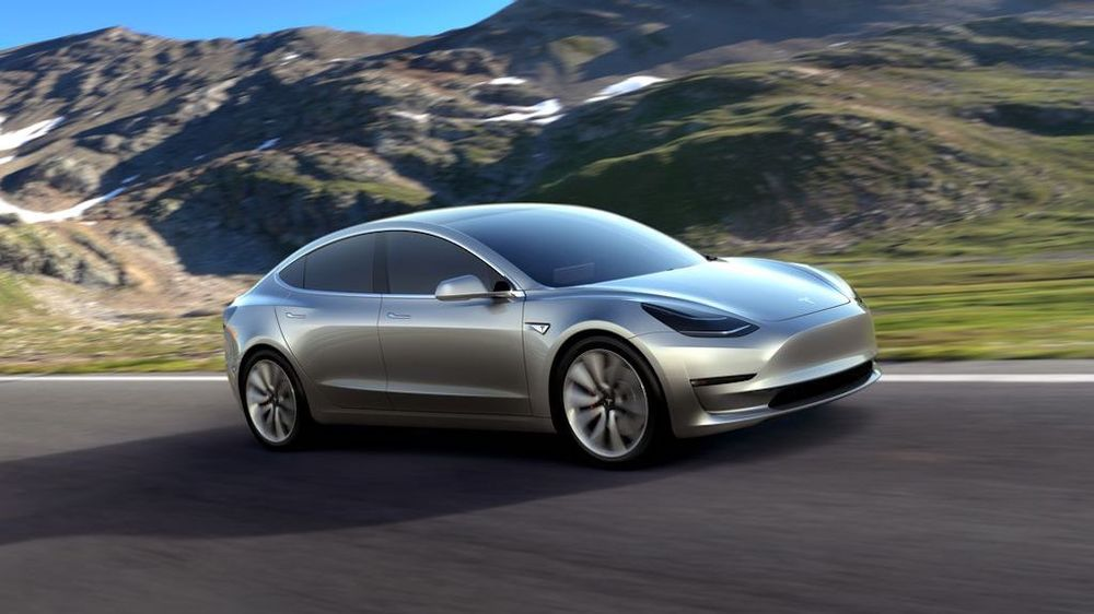 Tesla Model 3 : l'iPhone à roues
