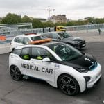 medical car BMW i8 Formule E Paris 2016