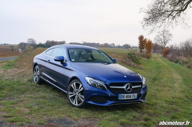 Mercedes Classe C Coupe 220 d Executive 3-4 avant-7