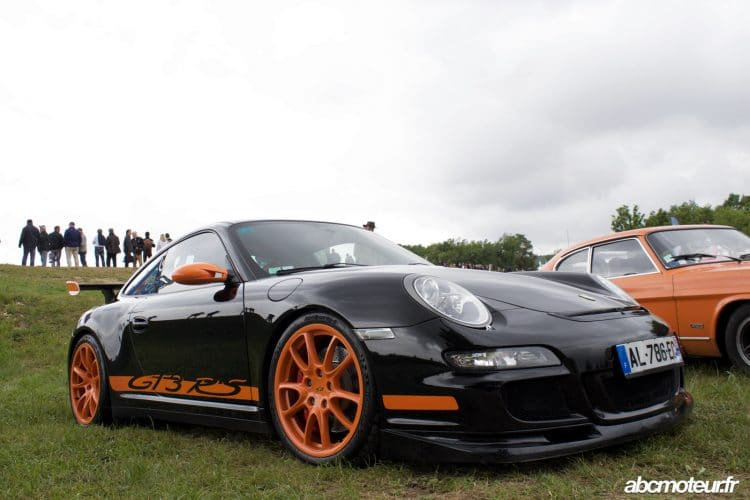 Porsche 911 GT3 RS Grand Prix Age Or 2016 Dijon-Prenois-32