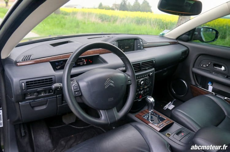 Citroen C6 interieur