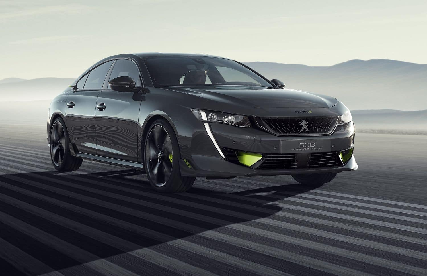508 Peugeot Sport Engineered - Vue 3/4 avant