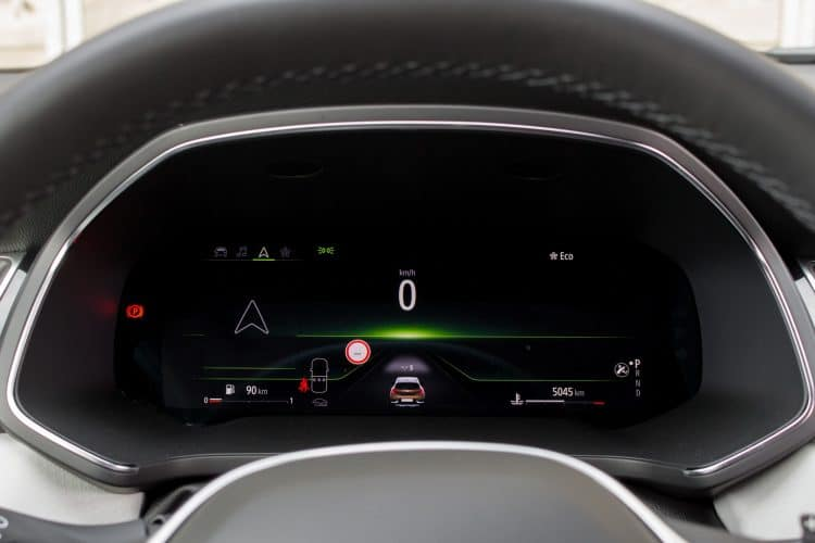Renault Captur compteurs Eco