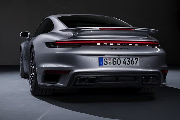 Porsche 911 Turbo S - Coupé